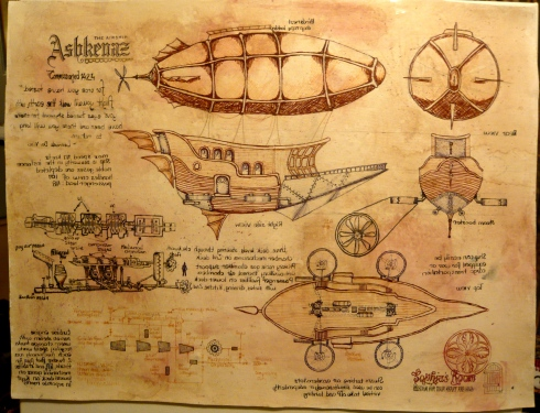 Airships and Escapes